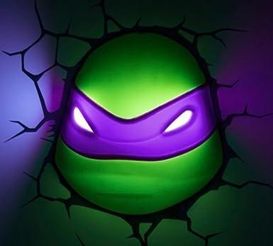 3D -Deko- Licht ~ ~ Teenage Mutant Ninja Turtles / Donatello ...