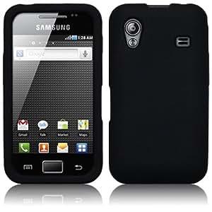 Funda de Silicona Negra Negro Samsung Galaxy ACE s5830