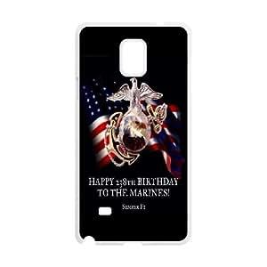 Samsung Galaxy Note 4 N9100 Phone Case Marine Corps Q6A1158792