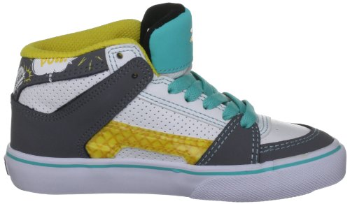 Solaria Publications Kids Rvm Vulc - Zapatillas de skateboarding Blanco/Gris/Azul