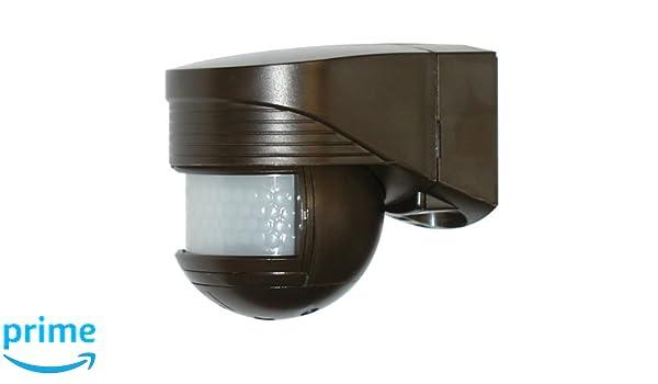 Beg det.mov/pres-i.crep - Detector movimiento lc-click-n 140 para exterior marron: Amazon.es: Bricolaje y herramientas