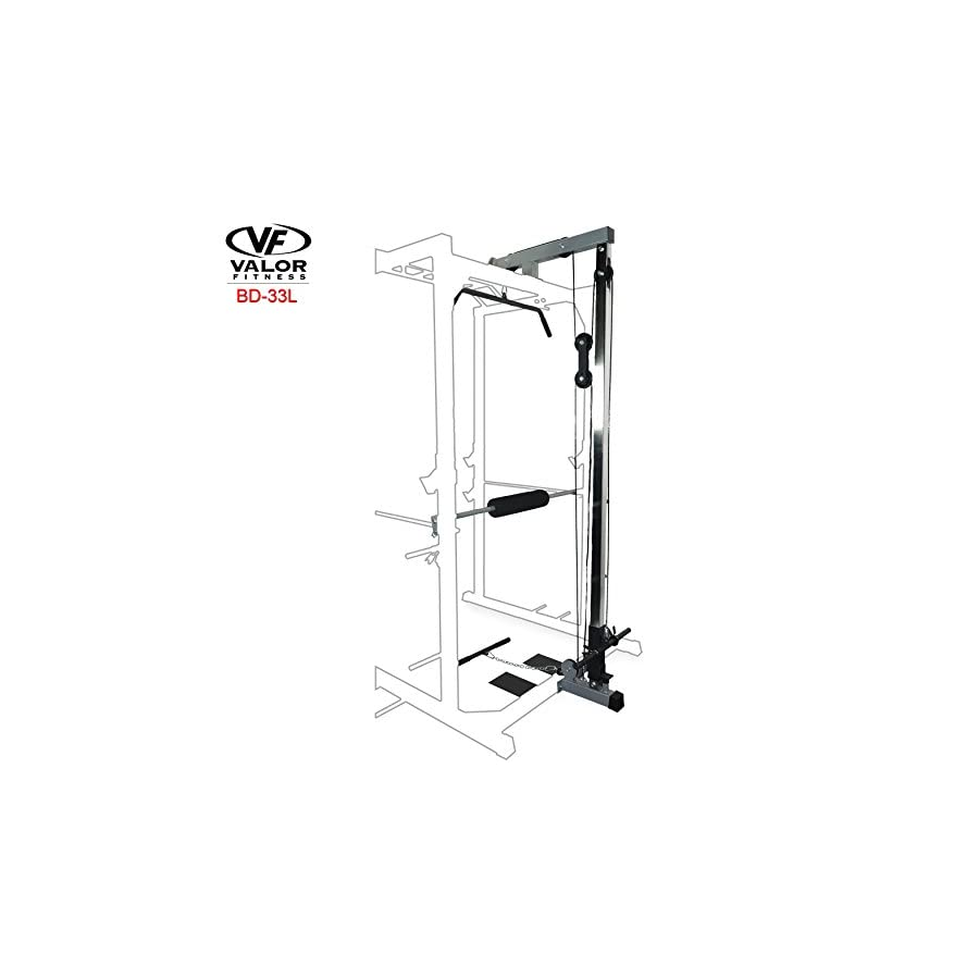 Valor Fitness LAT Pull BD 33 Heavy Duty Power Cage