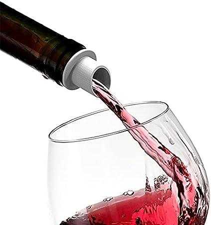 4 Piezas Tapón De Vino De Silicona, Tapones De Champán, Tapón De Champán Sellado Al Vacío Para Tapones De Botellas De Champán Para La Colección De Vinos Vino Tinto Champagne Beer Saver Sealer