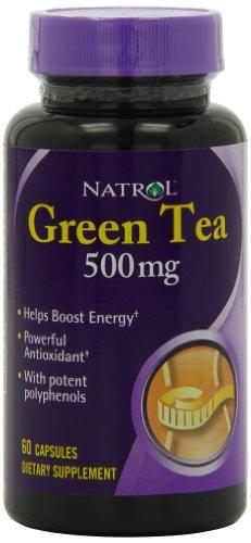 Natrol Green 500mg Capsules Count