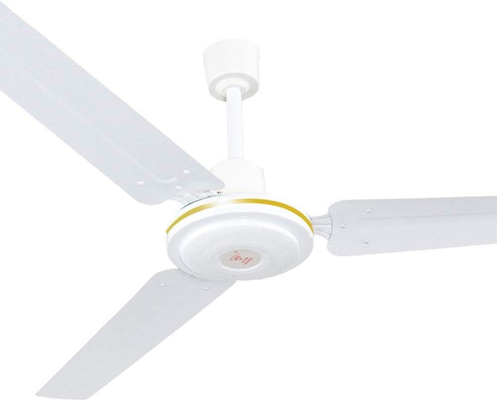 AIXIN 56 Pulgadas Fuerte Viento de Techo Ventilador de Techo Ventilador de Tres Hojas de Metal Reglamento Alta capacitancia de la Sala de la Hoja Tercera Velocidad del Ventilador