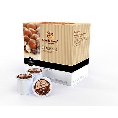 Gloria Jean's Hazelnut Coffee K-Cup (Pack of 108)