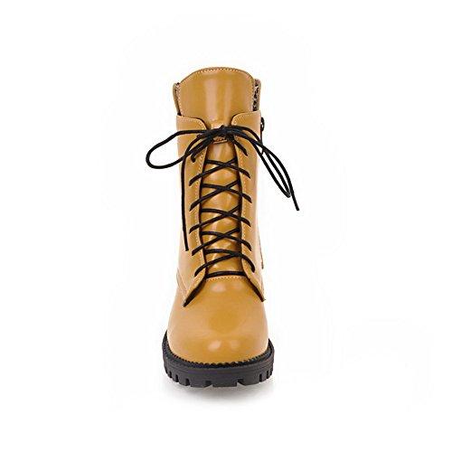 1TO9Mns02465 - A Collo Alto Donna, Giallo (Yellow), 35