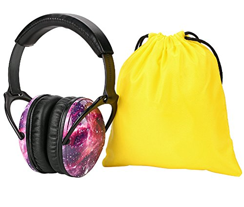 Noise Cancelling Headphones for Kids Hearing Protection with Travel Bag Adjustable Protector Noise Reduction Ear Muffs For Children,Junior,Babies,Infants purple by GAMT (Image #6)