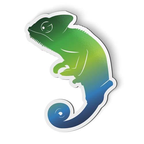 - AK Wall Art Chameleon - Magnet - Car Fridge Locker - Select Size