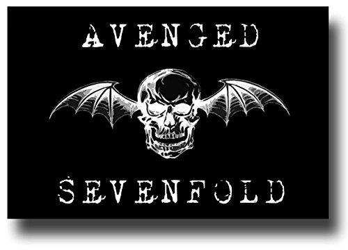 Avenged Sevenfold Poster - A x 17 Promo BlkLogo