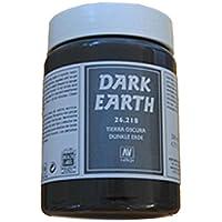 Vallejo Vallejo Diorama Effects Dark Earth 200ml Miniatures