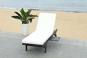 Amazon.com: Safavieh Outdoor Collection Newport - Sillón con ...