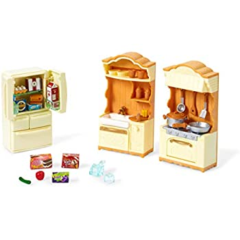 Calico critters triple baby bunk beds toys - Calico critters deluxe living room set ...