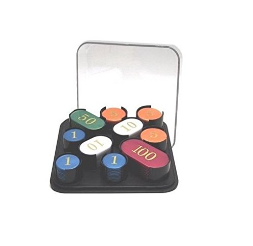 Box 100 x-Set nummeriert Poker Roulette Casino Chips/Spielsteine
