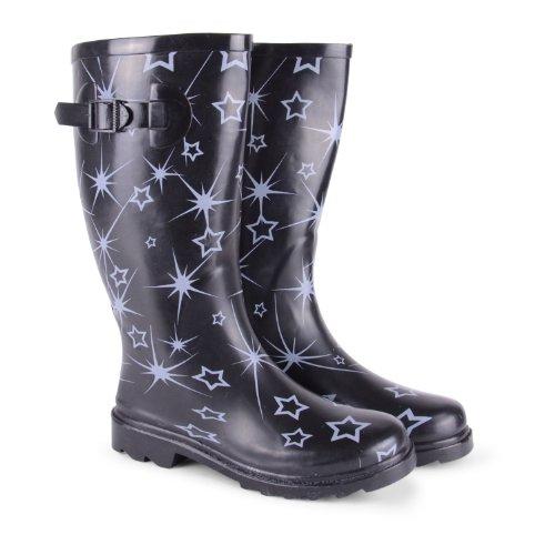 Footwear Sensation - botas de nieve de sintético mujer, color multicolor, talla 40