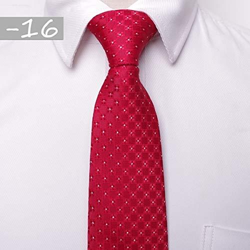 Tie classic men business formal wedding tie 8cm stripe neck tie fashion shirt dress accessories