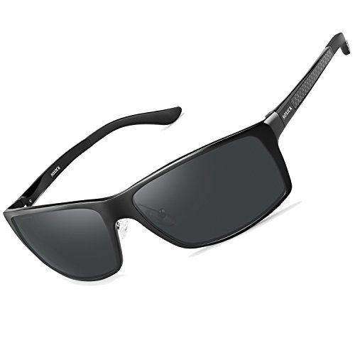 3f669ff002c SOXICK Polarized Sunglasses for Men Women - Adjustable Metal Frame Driving  Glasses (FDA Approved)