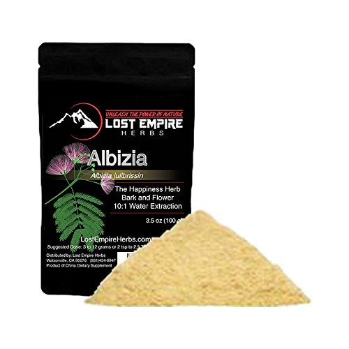 Albizia Julibrissin – Packed with Antioxidants – Promotes Healthy Sleeping Habits, Relieves Stress, Lifts Feelings of Anxiety and Depression, Regulates Mood – (100 Grams)