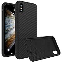 RhinoShield Coque pour iPhone XS [SolidSuit]   Housse Fine avec Technologie Absorption des Chocs & Finition Premium - [Résiste aux Chutes de Plus de 3,5 mètres] - Finition Fibre de Carbone