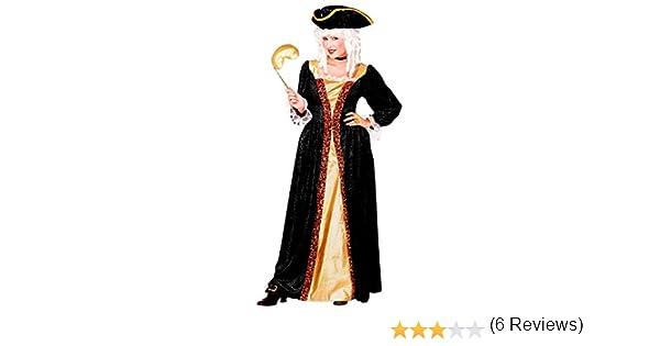 WIDMANN Widman - Disfraz de veneciano para mujer, talla UK 16-18 ...