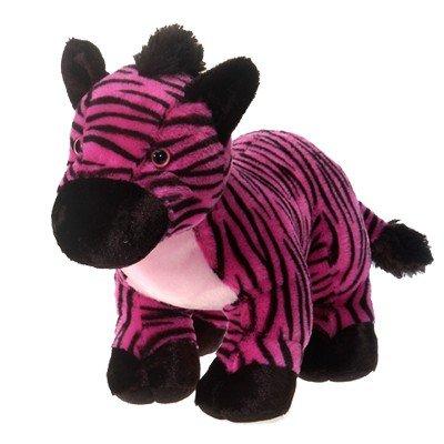 Amazon Com Pink Zebra Plush Stuffed Animal Toy By Fiesta Toys