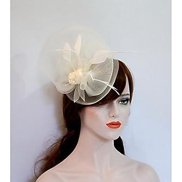 XZX Jewellery Silk Net Headpiece-Wedding Party  Evening Fascinators Hats 1  Piece  Amazon.co.uk  Sports   Outdoors f023c8fb3ff