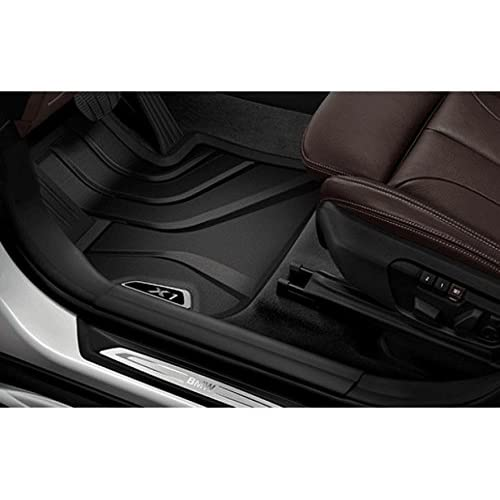 durable modeling genuine bmw all-weather floor mats  bmw x1  2016   front set