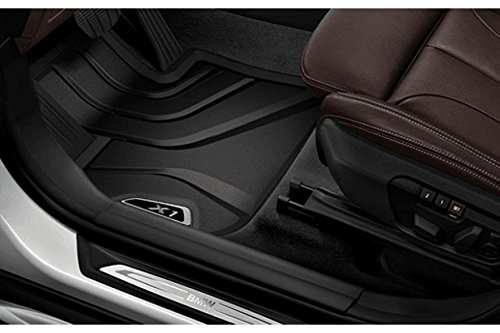 Genuine BMW All-Weather Floor Mats, BMW X1 (2016+) FRONT (Bmw Front Floor Mat)