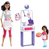 Barbie I Can Be Pancake Chef African-American Doll Playset