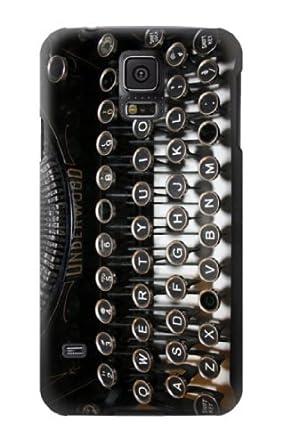 Custom S0620 máquina de escribir carcasa para Samsung Galaxy S5 individualidad para E-GLL caso