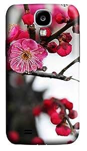 Samsung Galaxy S4 I9500 Hard Case - The Plum Blossom 2 Galaxy S4 Cases