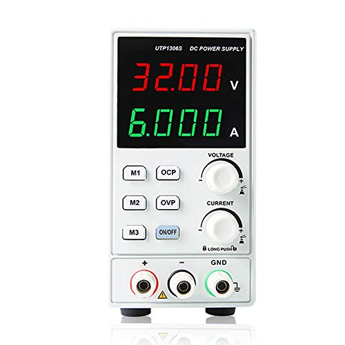 Multimeter UTP1306S Switching for DC Power Supply 4 Digits Display LED 0-32V 0-6A Adjustable Mini Supply AC 220V 50Hz WZCUICAN