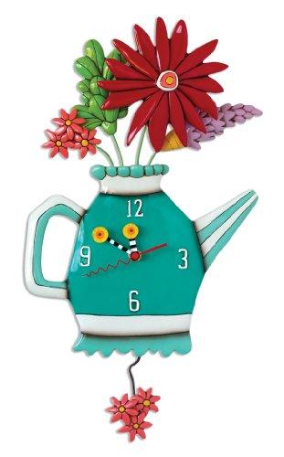 Allen Designs Spring Bouquet Pendulum - Bouquet Clock Wall