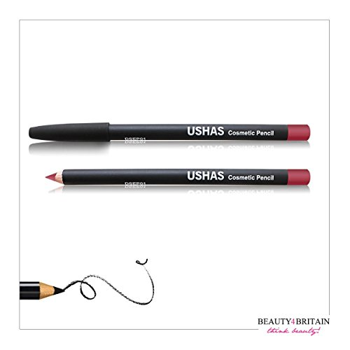 Luxury Professional EyeLiner 5 Colours Black, Brown, Dark Brown, Red, Silver UK Seller (1 pc, Bordo) by - Uk Bordo