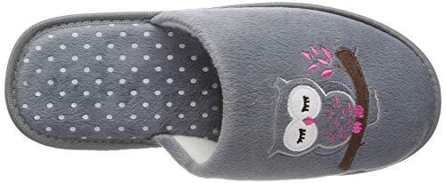 36 Rosa Pantofole Intermax Grau Donna Pink qw70CI