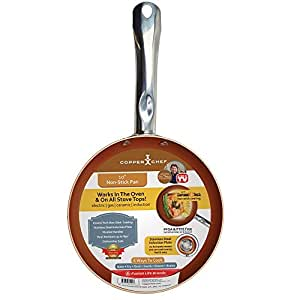 Amazon Com Copper Chef Round Pan 10 Inch Kitchen Amp Dining