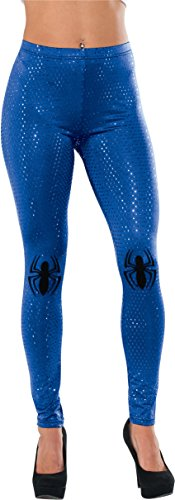 [Rubie's Costume Women's Marvel Universe Spider-Girl Adult Sequin Leggings, Multi, One Size] (Women X Men Costumes)
