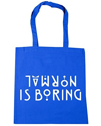 boring 42cm Beach x38cm Cornflower Gym is Bag Blue Shopping Normal HippoWarehouse Tote 10 litres EUg66q