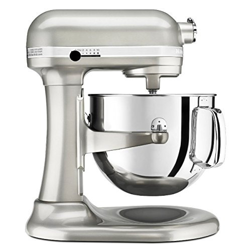Kitchenaid Professional 600 Stand Mixer 6 quart, Sugar Pearl (Certified Refurbished)