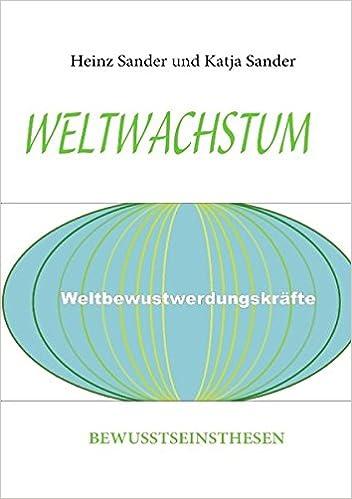 Descargar libros de francés gratisWELTWACHSTUM (German Edition) by Heinz Sander,Katja Sander CHM