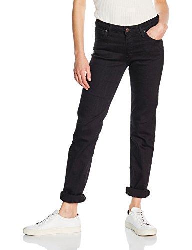 Lee Marion Noir Droit Femme Black Rinse Jeans CU6RCq