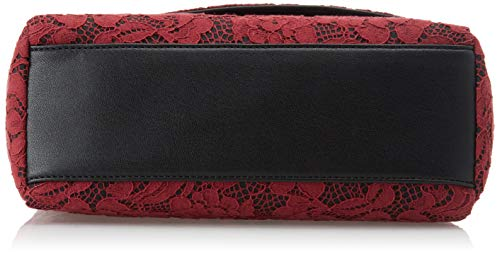 Aa8pfq Cross Set Women's Twin bordeaux Rosso body Bag 1xEARRtw