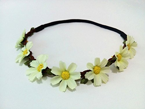 Multi (Sunflower Costume Headband)