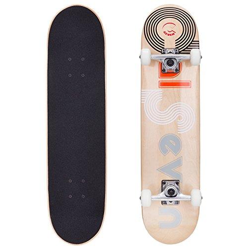 Series Pro Maple Professional Wood - Cal 7 Studio City 7.5 Complete Skateboard, 52x31 99A PU Wheels