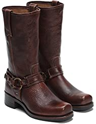 FRYE Mens Belted Harness 12R Boot Square Toe - 87250-Ctw