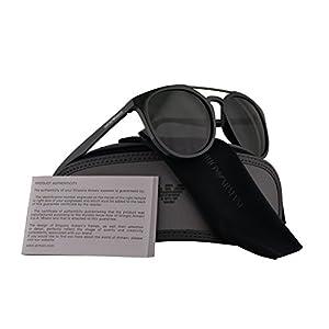 Emporio Armani EA4103 Sunglasses Green w/Green Lens 56mm 559771 EA 4103