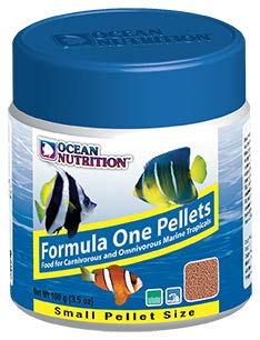 - Ocean Nutrition Formula One Small Pellet 3.5 Oz.