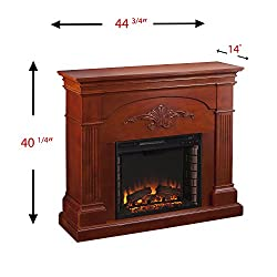 Sicilian Harvest Electric Fireplace - Ivory from SEI