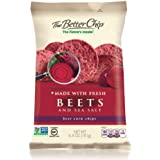 The Better Chip Tortilla Chips, Beets & Sea Salt, 6.4 Ounce (Pack of 12)