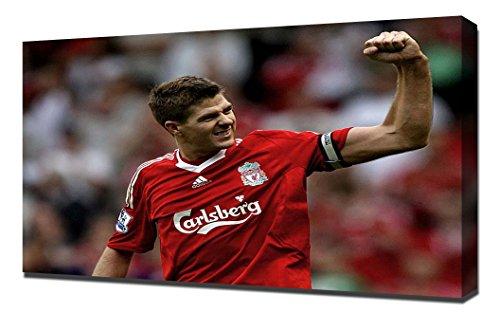 Liverpool Steven Gerrard 3 - Canvas Art - Steven Gerrard Canvas